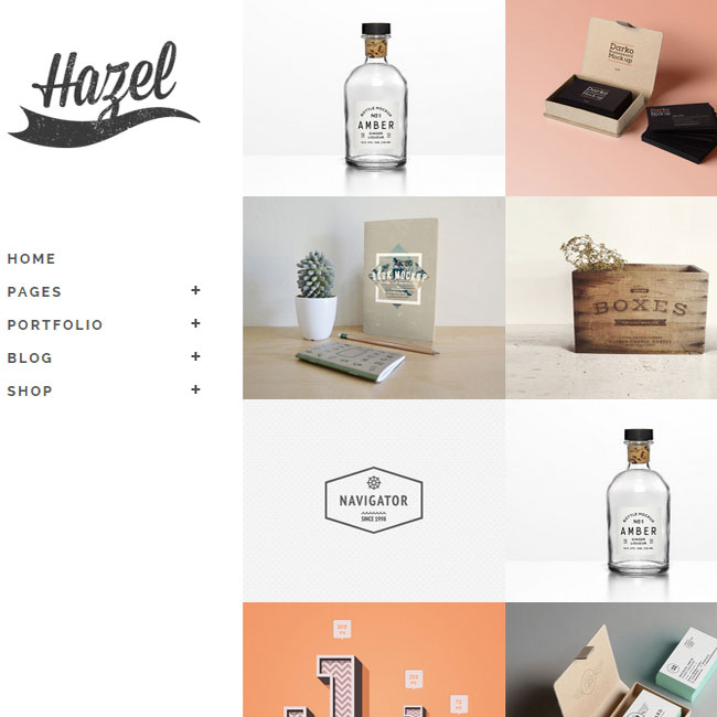 Hazel Multi-idea WordPress Theme