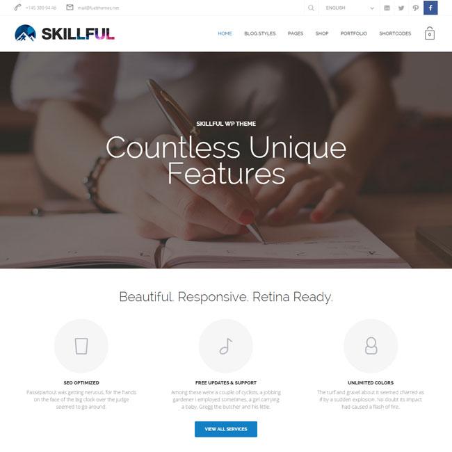 Skillful Multi-Purpose WordPress Theme