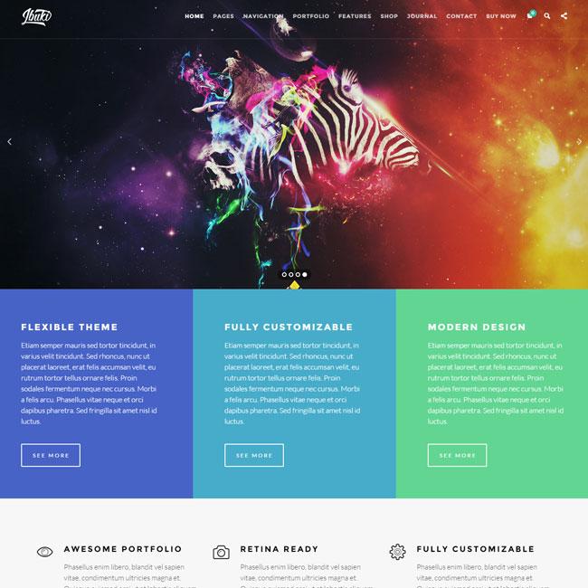 Ibuki – Shop WordPress Theme