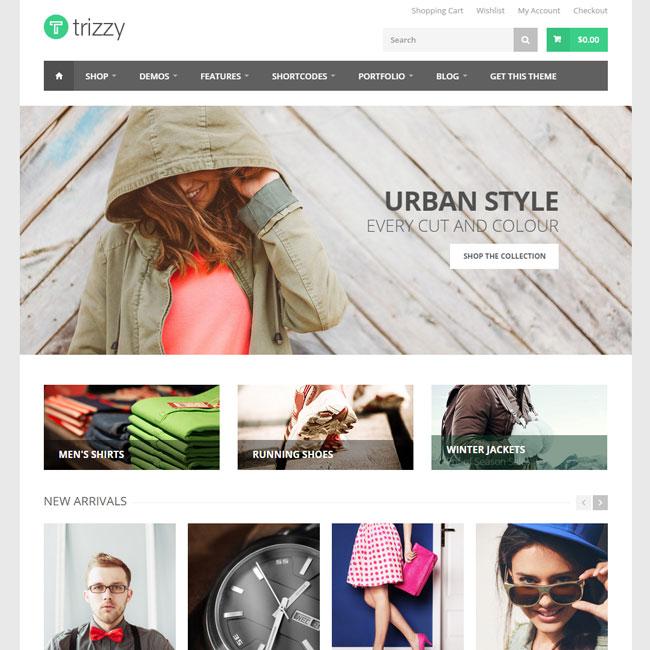 Trizzy – WooCommerce WordPress Theme