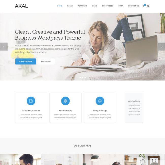 Akal Multipurpose WordPress Theme