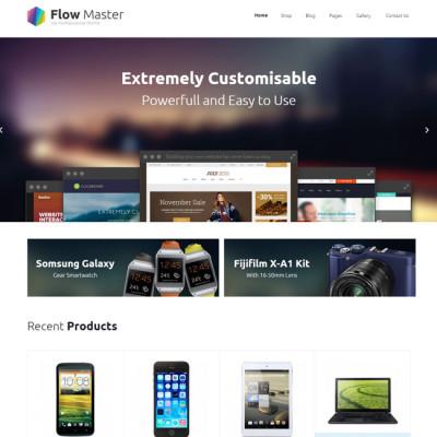 FlowMaster eCommerce WordPress Theme