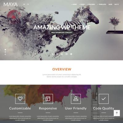 Maya – Smart and Powerful WordPress Theme
