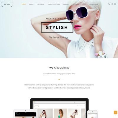 Oshin – Creative Multi-Purpose WordPress Theme