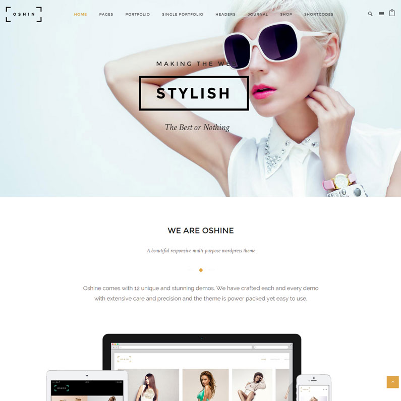 Oshin – Creative Multi-Purpose WordPress Theme